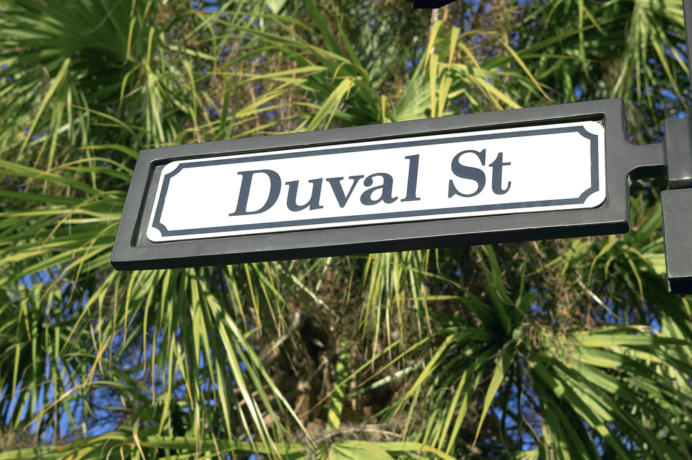 Duval Street Sign